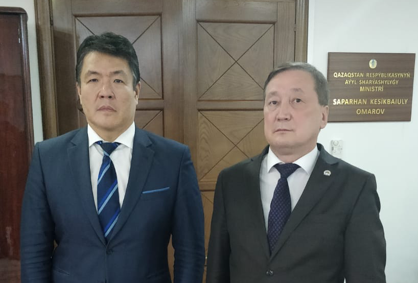 Minister of Agriculture of the Republic of Kazakhstan and IOFS Director-General discussed joint actions on food security